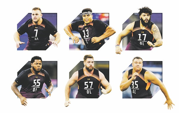 From A to O-line: Spielman plots course for Vikings' biggest draft need