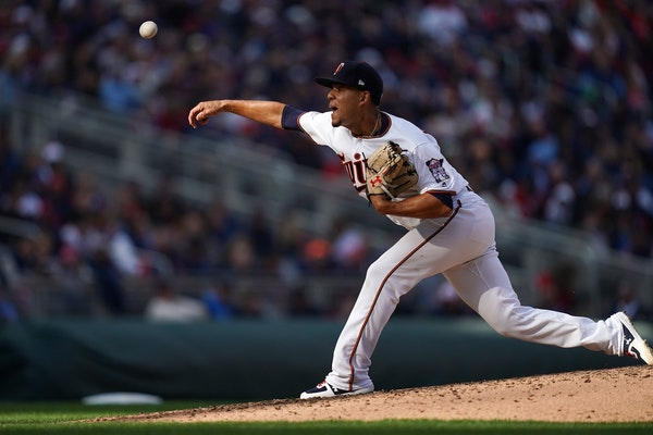 Twins righthander Jose Berrios impressed right out of the gate Thursday, including a deft fielding play on a bunt for the second out of the first inni