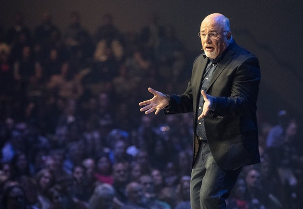 Dave Ramsey spoke to a sold-out crowd at Eagle Brook Church in Lino Lakes.
