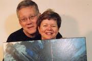 """Steve and Jean Danko, owners of Jean Stephen Galleries: """"We have areas we both excel in — we both sell art."""""""