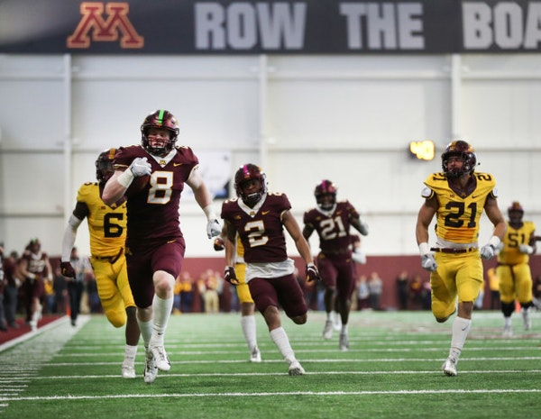 What did the Gophers learn from spring football?