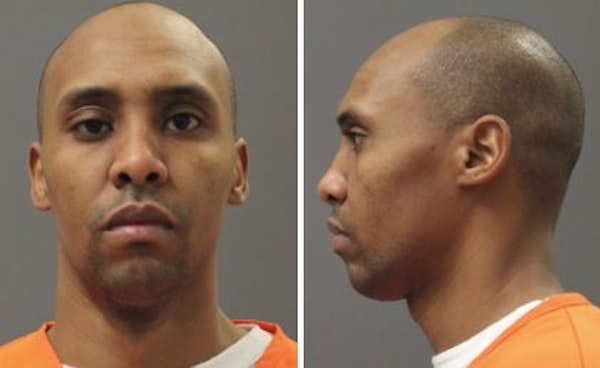 Mohamed Noor's Department of Corrections booking photo.