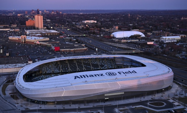 Allianz Field in St. Paul is the new home for the Minnesota United FC.