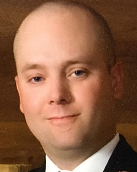Minnesota Department of Natural Resources officer Eugene Wynn Jr., 43. Wynn died Friday evening after being thrown out of a boat into the frigid water