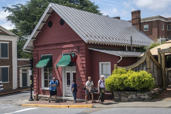 The Red Hen restaurant in Lexington, Va.