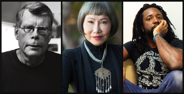 Stephen King, Amy Tan and Marlon James are among the big-name writers who are headed to Wordplay in Minneapolis.