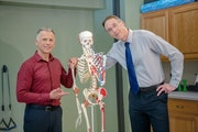 Winona physical therapists Brad Heineck and Bob Schrupp.