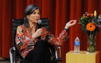 """Anna Quindlen at """"Talk of the Stacks."""" Photo by Robert Goudy."""