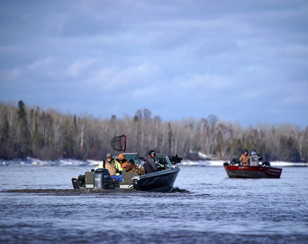 Anglers hit the Rainy River as walleye spawn in spring. But this year, for the first time, the DNR imposed catch-and-release rules on the border river