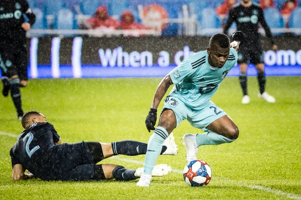 Minnesota United star forward Darwin Quintero has been in a reserve's role the past two games — his first two times as a Loon — during a season