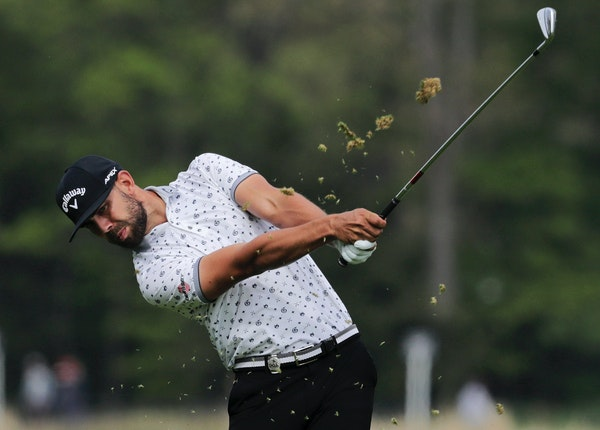 Erik Van Rooyen of South Africa, a former Gophers golfer, shot a second-round 68 Friday to move into a tie for 10th at the PGA Championship at Bethpag