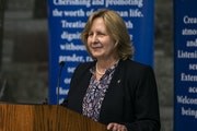 Barbara McDonald will serve as president of the College of St. Scholastica.