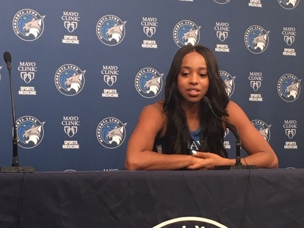 Lynx guard Lexie Brown feels (sort of) guilty about her viral video fame