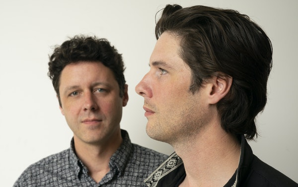 Brothers Page Burkum, left, and Jack Torrey of the Cactus Blossoms.