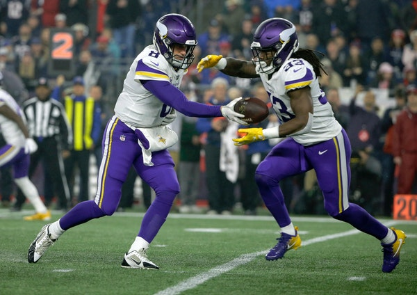 Vikings quarterback Kirk Cousins faded badly at the end of last season, but will he have the most to prove in 2019 or is it another player like Dalvin