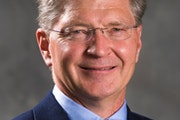 Michael Hemesath, president of St. John's University