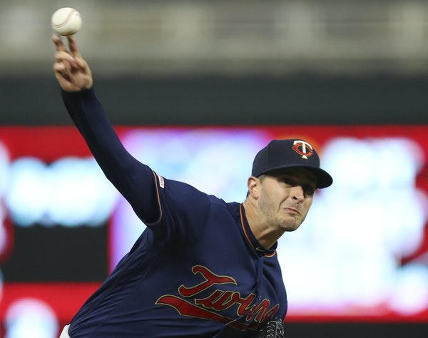 Jake Odorizzi, Friday night's starter for the Twins, is 4-2 with a 2.78 ERA, and he has a 1.11 ERA since April 15.