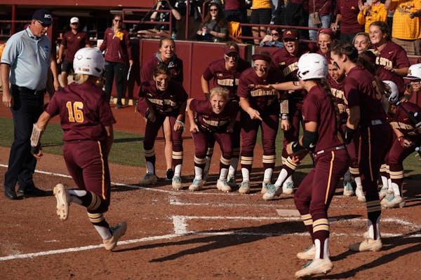 Gophers softball is College World Series bound