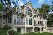 A reimagined mansion on Lake Minnetonka's Crystal Bay in Orono.