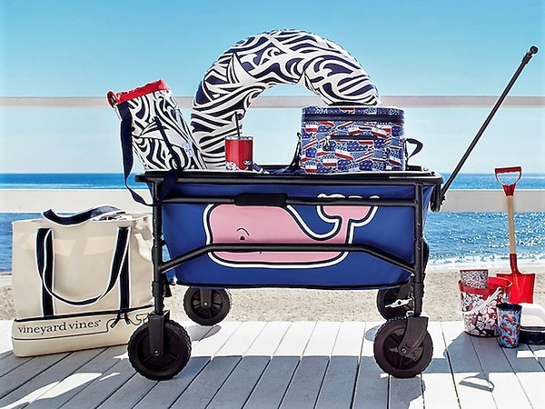 Despite stocking up, Target sold out of its collection of items from preppy fashion brand Vineyard Vines this past weekend.
