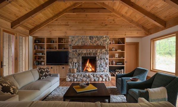 An Avon farmhouse is reborn by Rehkamp Larson Architects.