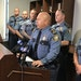 St. Paul Police Chief Todd Axtell, shown in June announcing the firing of five police officers for failing to intervene in an assault last year.