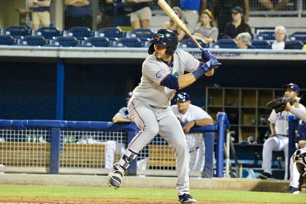 A second-half promotion is possible for Trevor Larnach, who's batting over .300 at Fort Myers.