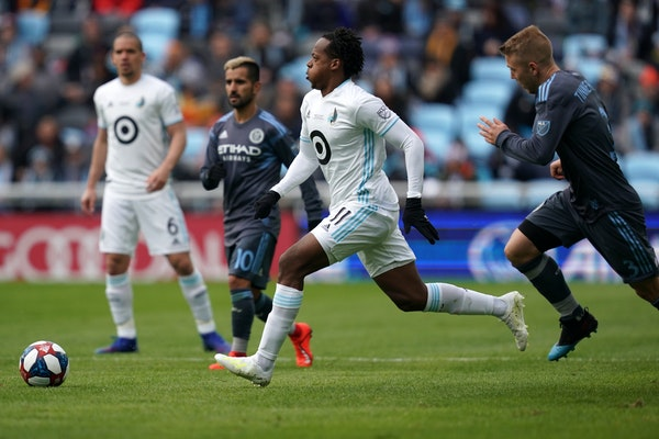 Minnesota United sent midfielder Romario Ibarra (11) to Pachuca in Mexico's Liga MX on a 13-month loan that gives Pachuca an option to buy outright.
