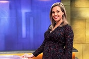 KSTP-TV anchor Lindsey Brown says she could have waited to find out the sex of their baby, but her husband couldn't. (It's a boy.)