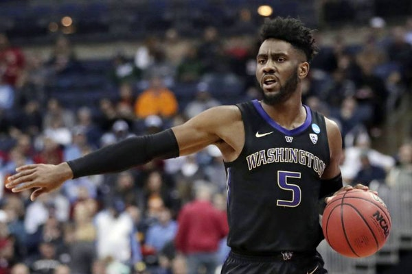 With their second pick in Thursday's draft, the Timberwolves took another conference player of the year, shooting guard Jaylen Nowell, the Pac 12 Pl