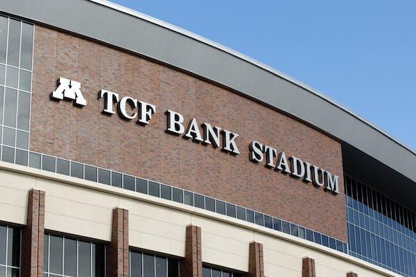The exterior of TCF Bank Stadium.