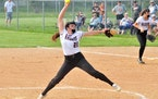 Brynn Hostettler, a hard-thowing righthander, pitched Northfield to the Class 3A championship in the first state tournament appearance in team history