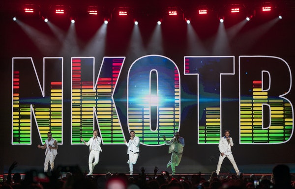 Groupon was used to help boost atendance at last Tuesday's concert by New Kids on the Block at Xcel Energy Center.