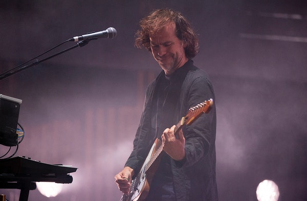 """""""After eight albums and 20 years, I think we were all sort of ready for a shift,"""" said guitarist Bryce Dessner of the National."""