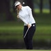 Hannah Green hit a chip shot on the 12th hole during the final round of the KPMG Women's PGA Championship at Hazeltine National.
