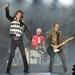 """Mick Jagger, from left, Charlie Watts, and Keith Richards of the Rolling Stones performed during the """"No Filter"""" tour Friday night at Soldier Fiel"""
