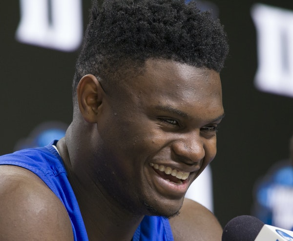 Duke forward Zion Williamson is the no doubt No. 1 pick of the draft because of his combination of skill and size.