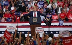 President Trump was at center stage Tuesday night in Orlando, where he kicked off his 2020 reelection campaign at a rally.