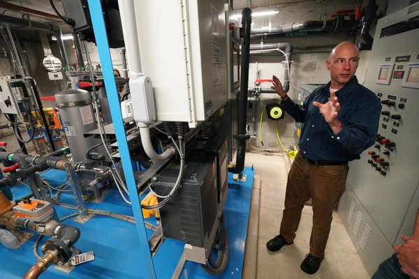 The city of St. Paul and Minnesota United unveiled their new cutting-edge rainwater reuse system, complete with water harvesting process and tree-tren