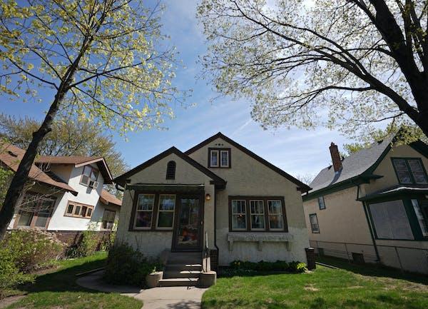 This 1926 bungalow is in Minneapolis' Corcoran neighborhood.