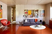 Inside the rare Lustron home on Nicollet Ave. in Minneapolis.