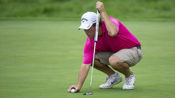 Brian Dwyer took no putt for granted in Monday's qualifier for berths in the 3M Open. Dwyer shot 7-under 64 but needed three playoff holes to advanc