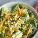 """Elote """"Caesar"""" Salad adds poblano peppers and sweet corn to the mix."""