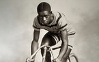 Major Taylor was the most dominant bike sprinter of his time in the late 19th century and early 20th.