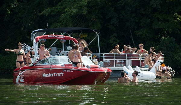 The nature of the boating scene on Lake Minnetonka complicates the search for a source of what sickened boaters over the July 4th weekend, public heal
