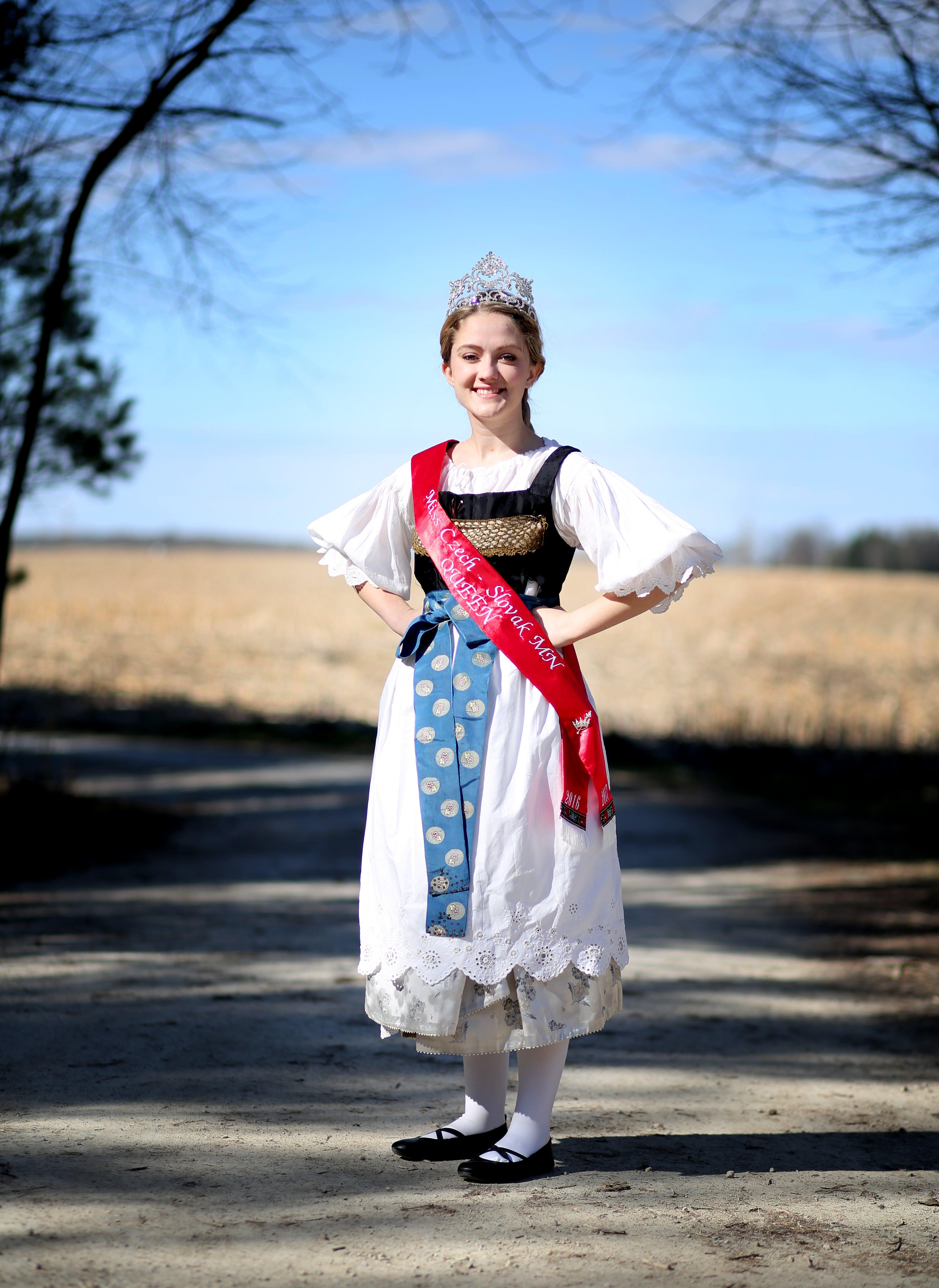 New Prague still revels in its Czech roots. Miss Czech Slovak pageant winner Alexa Turgeon is pictured in 2016.