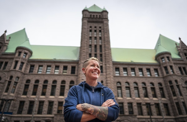 Katie Miller worked in the nonprofit world for 19 years before becoming a LGBTQIA community liaison for the Minneapolis Police Department.