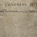 This copy of the Declaration of Independence, made in the 1820s, was given to James Madison as a gift.