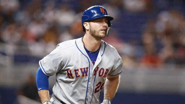 Mets rookie first baseman Pete Alonso.