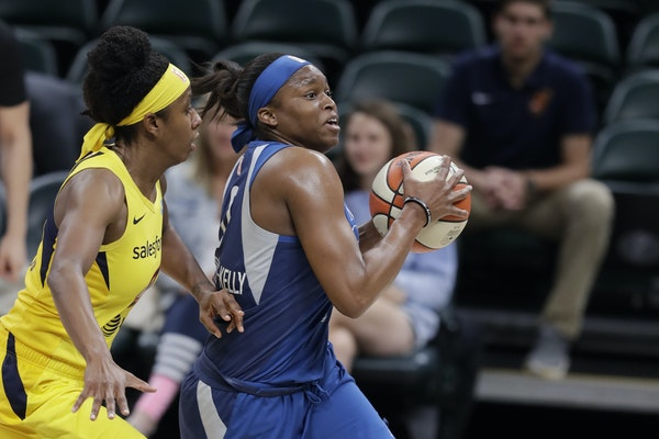 Lynx forward Karima Christmas-Kelly, right, is expected to miss the remainder of the WNBA season.